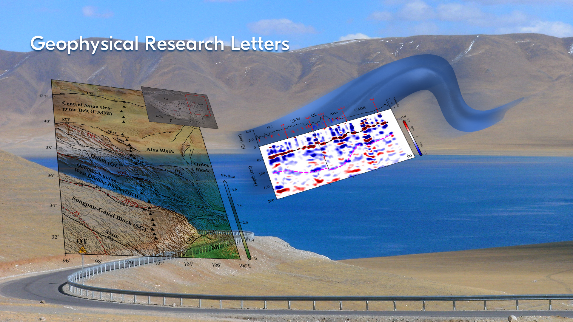 New insights found into how mountains grow in Northeastern Tibet