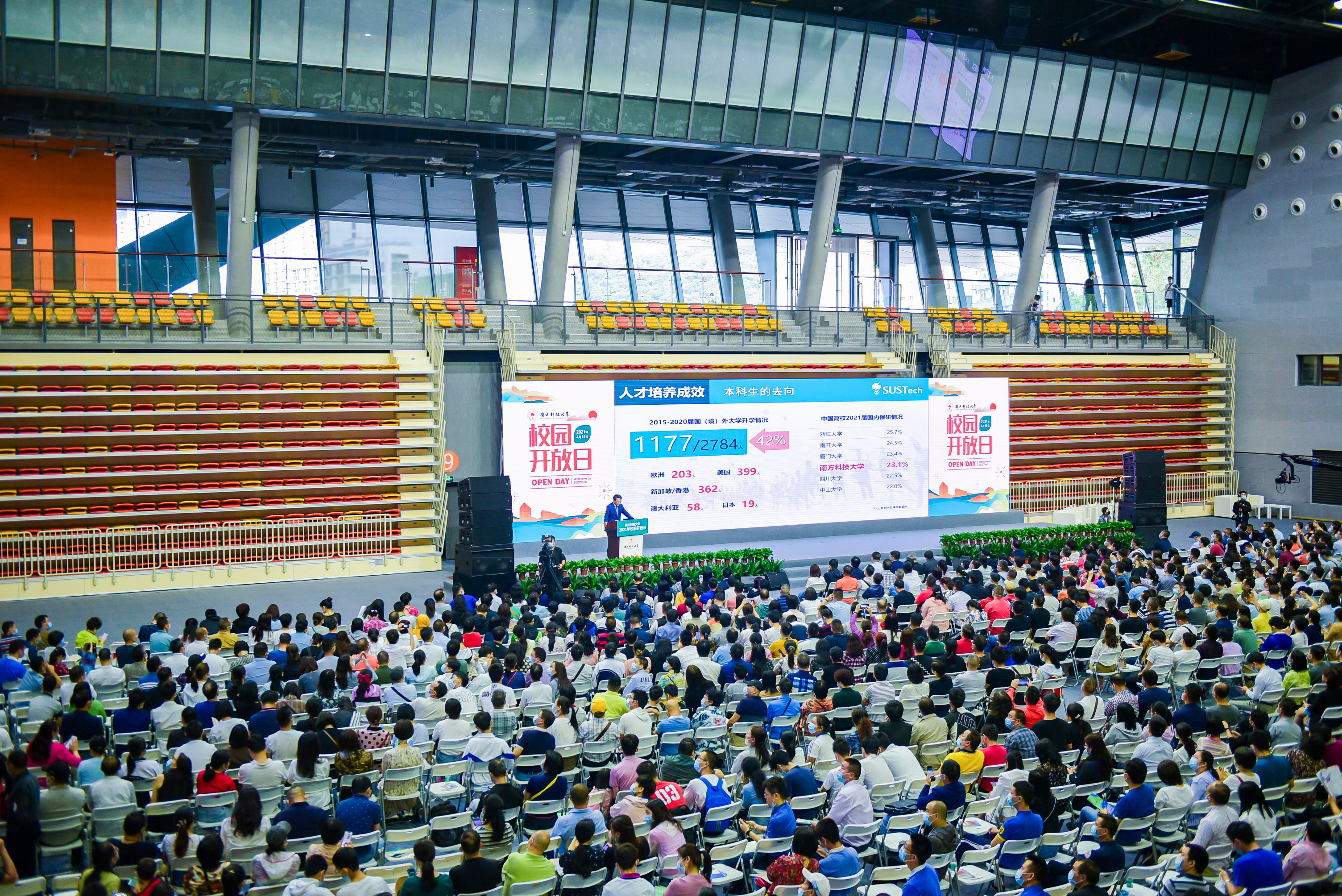 SUSTech holds 2021 Open Day