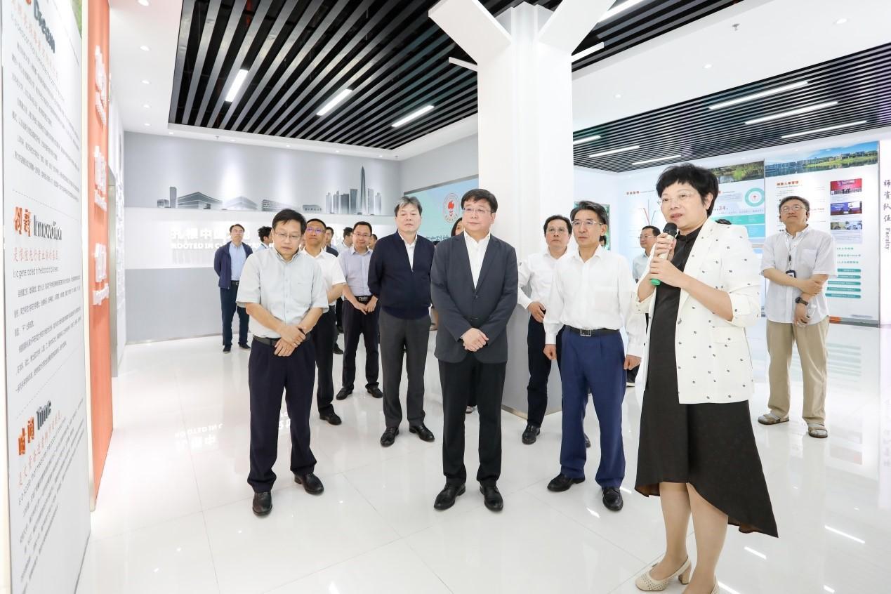 Vice Mayor of Shanghai visits SUSTech
