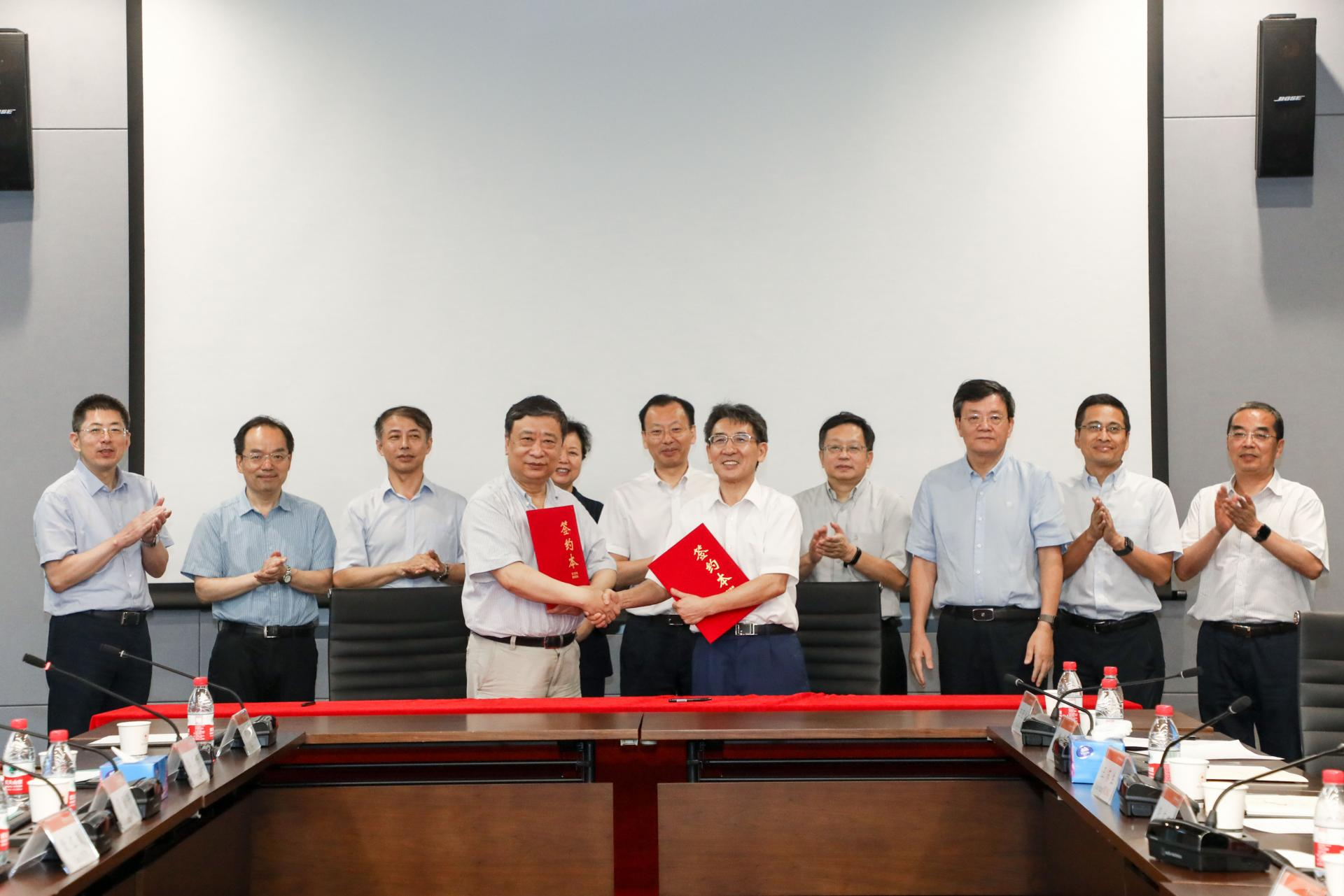 SUSTech and China National Salt Industry Group sign strategic cooperation agreement